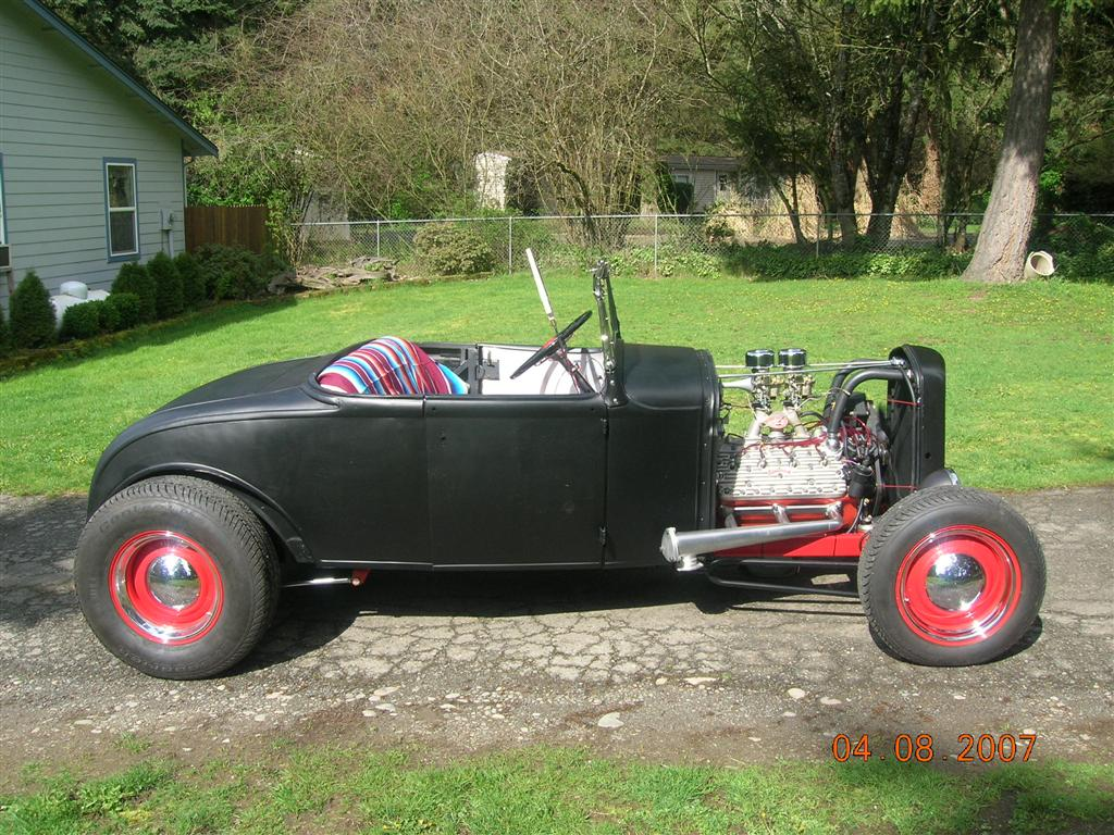 1930 Rat Rod Ford Roadster
